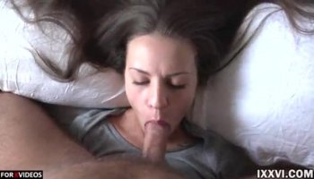 Ivy Winters is doing a spectacular blowjob for her boyfriend