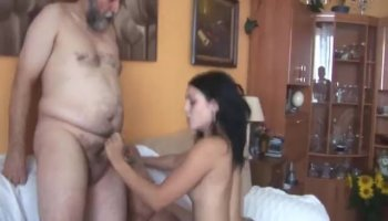Cassie Fire gets her asshole drilled on the floor