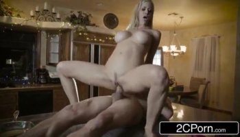 Ebony is riding on studs dick until he surrenders